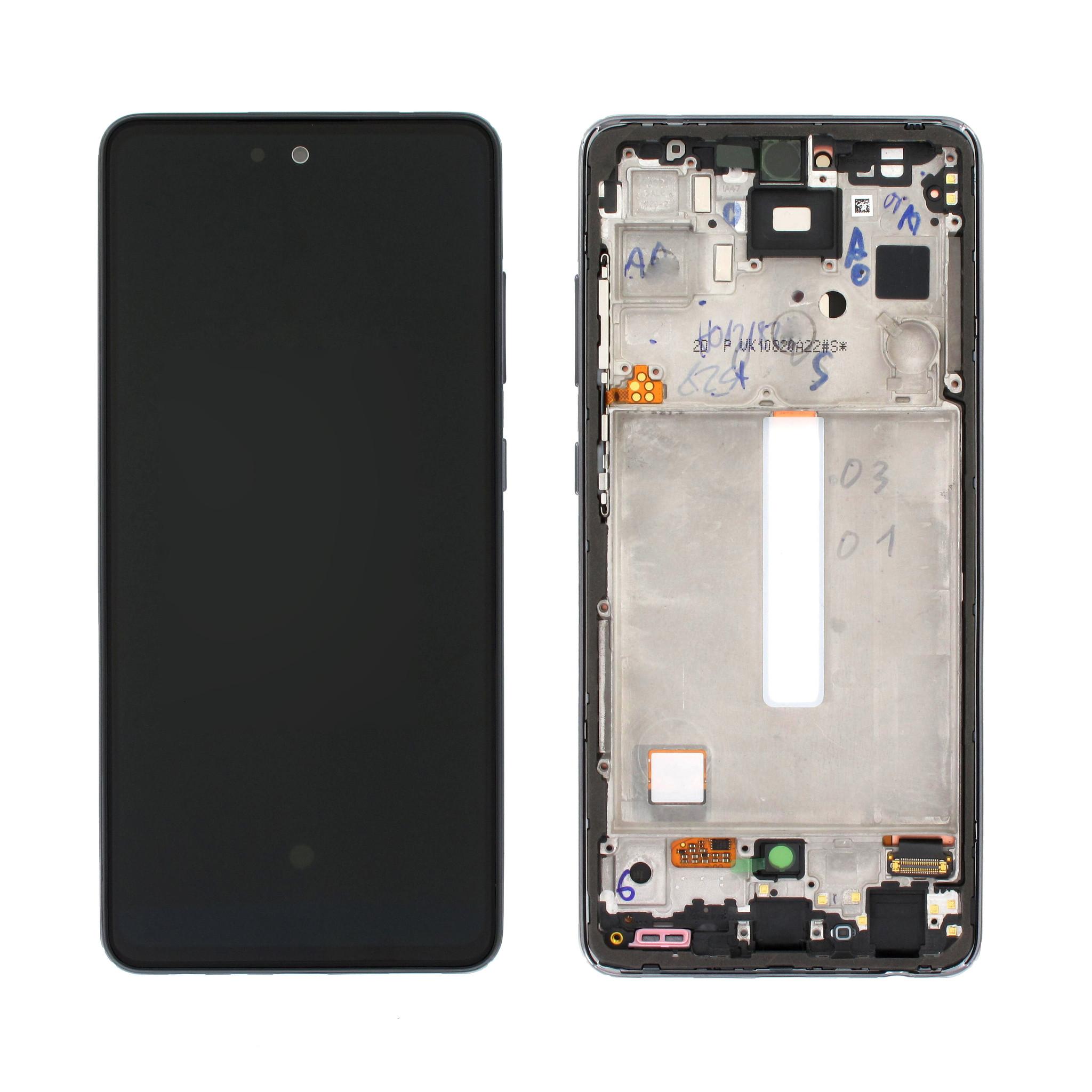 Samsung Galaxy A52s 5G Display, Awesome Black/Schwarz, GH82-26861A