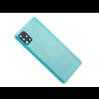 Samsung Galaxy A51 Accudeksel, Prism Crush Blue/Blauw, GH82-21653C