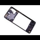 Samsung Galaxy A51 Middenbehuizing, Prism Crush Black/Zwart, GH98-45033B