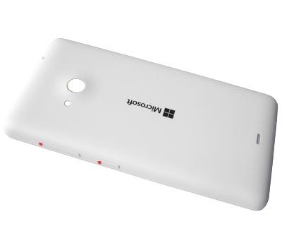 promo code eccc6 a9ca9 Microsoft Lumia 535 Back Cover, White, 8003486 - Parts4GSM