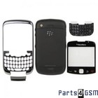 BlackBerry Curve 3G 9300 Middenbehuizing Zwart | Bulk vk2 r10