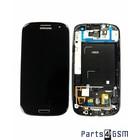 Samsung Galaxy S III i9305 LTE Interne Beeldscherm + Touchscreen + Frame Zwart GH97-14106B | 4/3