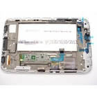 Samsung Galaxy Tab 2 7.0 P3100 Internal Screen + Digitizer Touch Panel Outer Glass + Frame White GH97-13560B