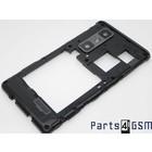 LG Optimus 3D Max P720 Mid Cover Zwart ACQ86009301 7/1