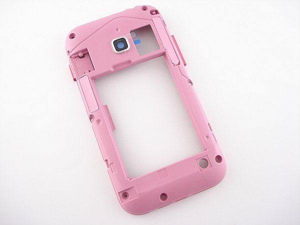 Samsung Galaxy Ace Duos S6802 Middle Cover Pink GH98-23848C | Bulk 4