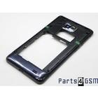 Samsung Galaxy S II Plus I9105 Middle Cover Black GH98-25681A [EOL]