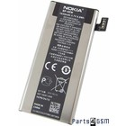 Nokia BP-6EW Battery, Lumia 900, 1830mAh, 0670656, installation,670656