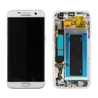 Samsung G935F Galaxy S7 Edge LCD Display Module, White, GH97-18533D