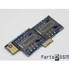 Sony Xperia E Dual C1605 Simkaartlezer Connector Board A/8CS-58570-0001 | Bulk 6/2 [EOL]