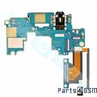 HTC One M7 UI Board Boven incl. Audio Jack + Volume Flex 51H10209-09M   Bulk 3/5
