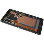 Sony LCD Display Modul Xperia M2 Aqua D2403, Schwarz, 78P7550002N