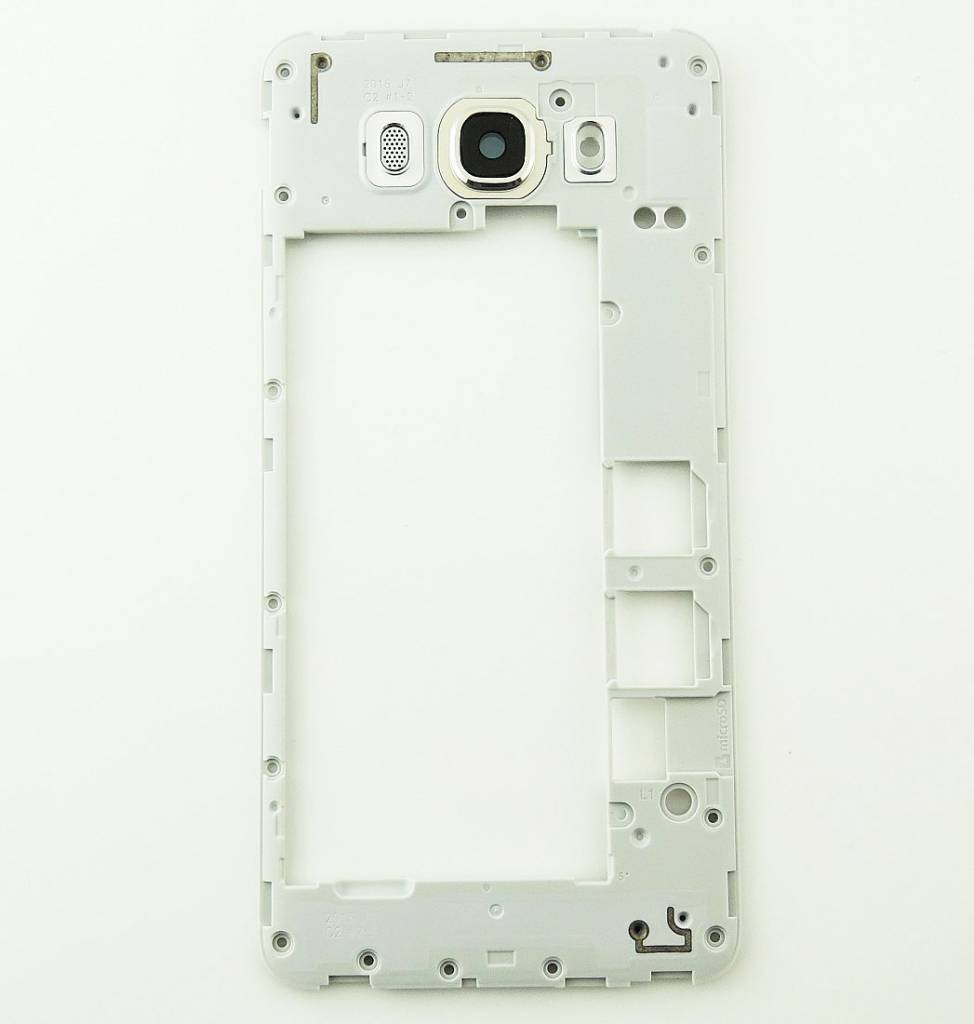 Samsung J710F Galaxy J7 2016 Middle Cover, Gold, GH98-39387A - Parts4GSM