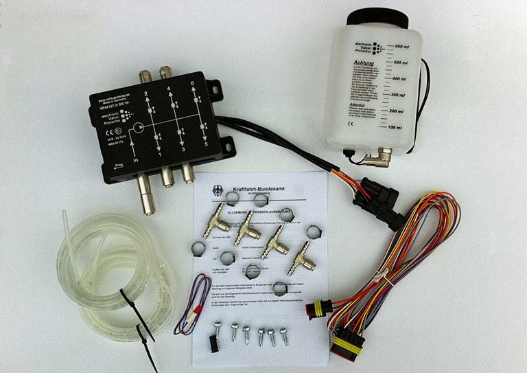 Valve-Protector sequentieller Kit 4W