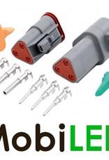 Deutsch DT-serie 3 pins connector