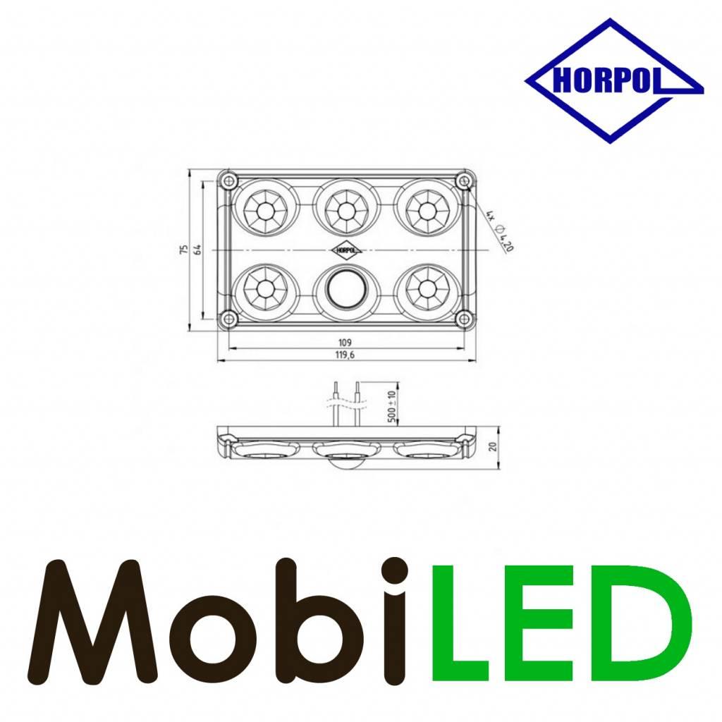 HORPOL Éclairage intérieur avec detecteur de mouvement 12-24 volt