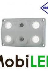 HORPOL Binnenverlichting rood/wit met schakelaar 12-24 volt