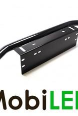 Montage steun met gebogen beugel voor op de bumper