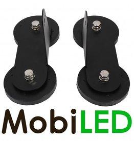 Support magnétique pour LED barre