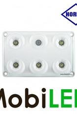 HORPOL Binnenverlichting Wit met schakelaar 12-24 volt