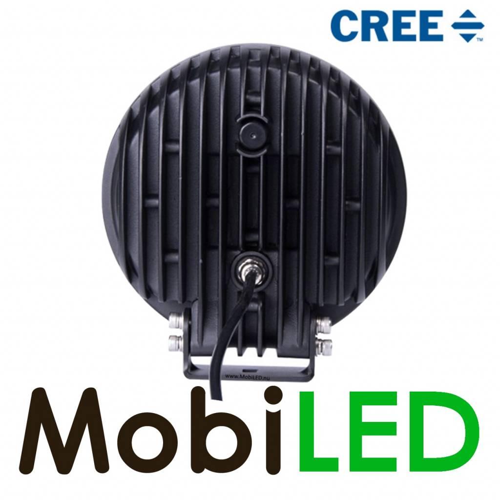 "Cree 7"" Verstraler 60W E-Keur Black line DRL"