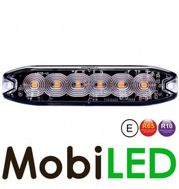 Ultra Mince LED Flash avec 6 LEDs  R10/R65 E-mark