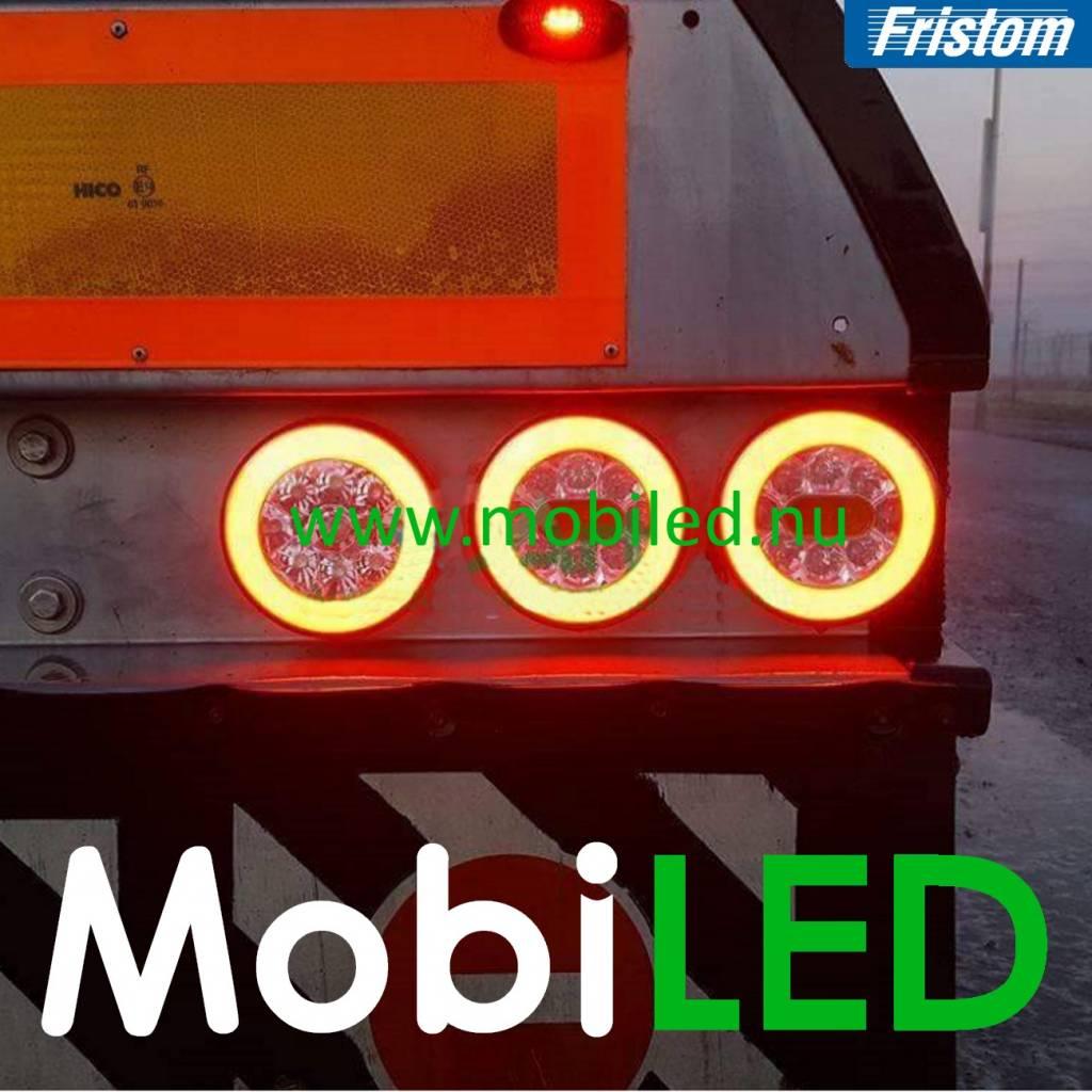 Fristom Neon look Rond feu arrière Fristom 3 fonctions E-mark baïonnette