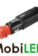 Sigaretten aansteker plug met 15 Amp zekering 12-21mm