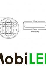 Flash ambre 200mm pour Signalisation de chantier, version esclave