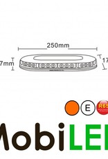Flitsbalk dakset 90 watt Amber E-keur magneet