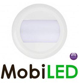 LED autolamps Éclairage intérieur Opale 12-24V Blanc ronde