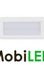 LED autolamps Éclairage intérieur Opale 12-24 volt Blanc sans interrupteur ovale