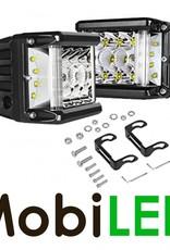 M-LED SET Side shooters 34w high power CREE leds