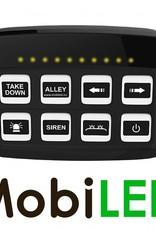Digitaal schakelpaneel met verlichte toetsen