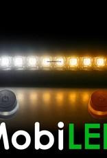 Barre lumineuse réglable de couleur double 120w ambre /blanc  flash 12 volts!