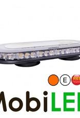 Flitsbalk dakset 126 watt Amber E-keur magneet