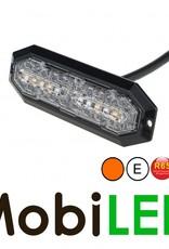 Klasse 2 LED Flitser Amber Ultra dun E-keur Flits en richtingaanwijzer