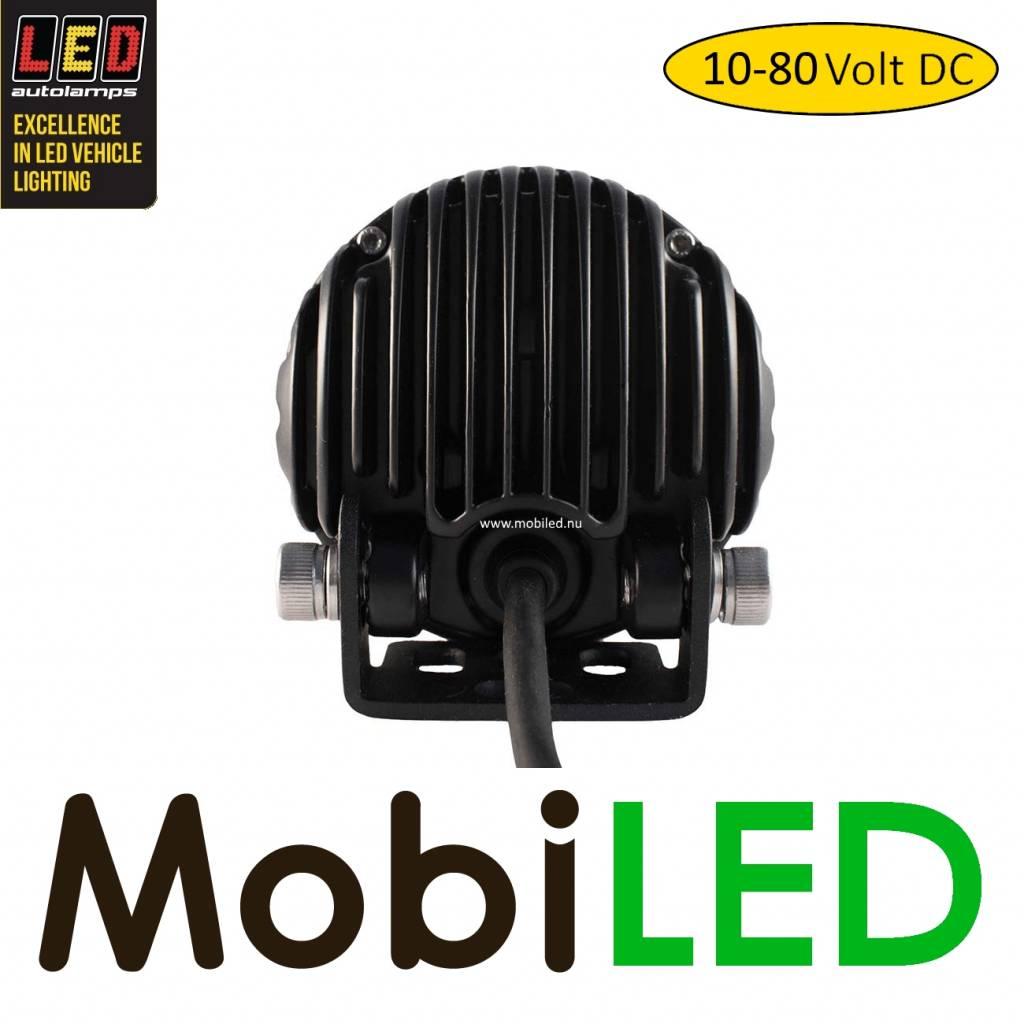 LED autolamps Heftruck Werklamp 10-80 volt DC 18 watt rond