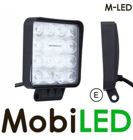 M-LED M-LED 48w  Grafeen platte werklamp E-keur 4m kabel