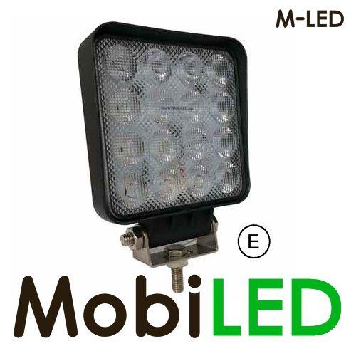 M-led 48w  Grafeen platte werklamp E-keur 4m kabel