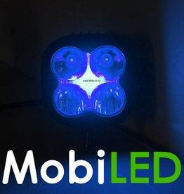 LED combistraler 20w met blauwe backlight (DRL)