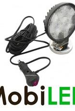 Werklamp 18w met aansluitkabel en magneet