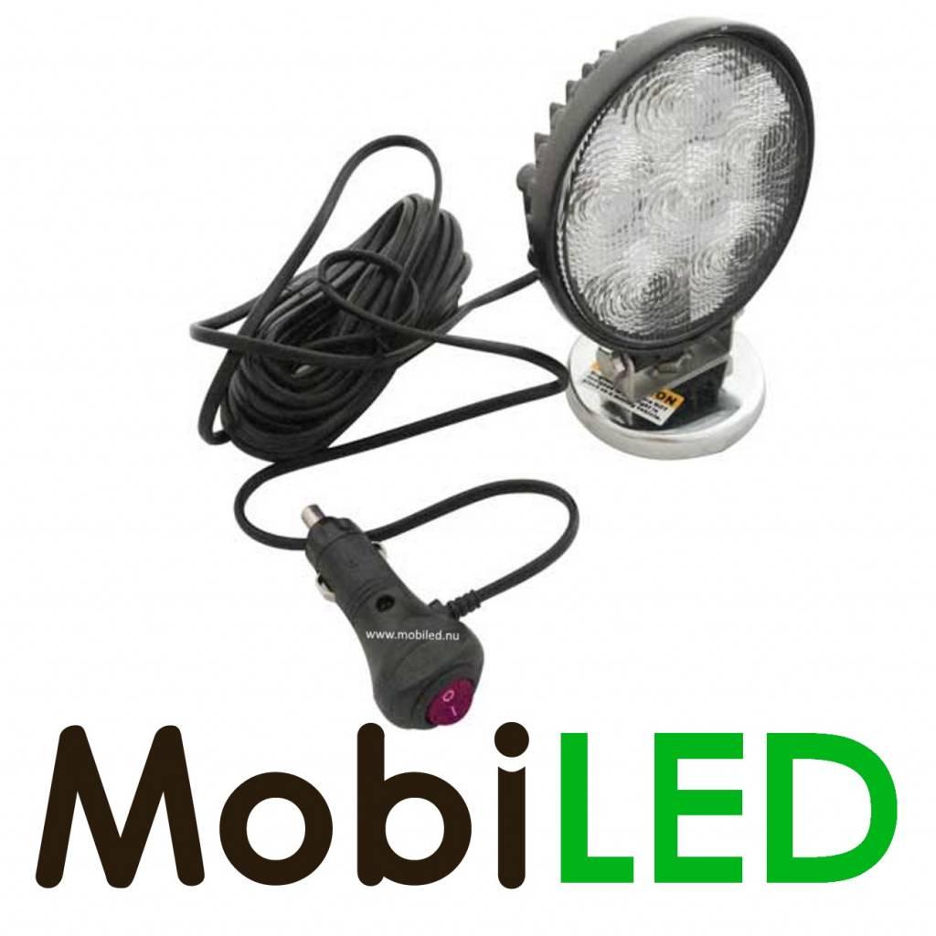 Lampe de travail 18w avec câble de raccordement et aimant