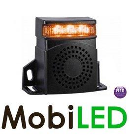 Achteruitrijalarm met LED