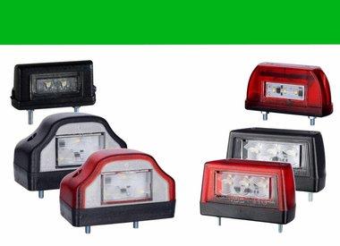 Éclairage de plaque LED