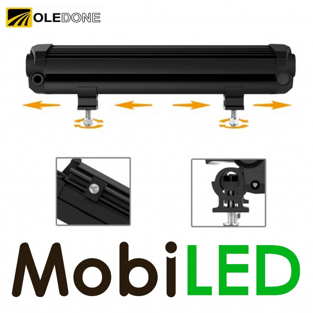 OLEDONE Oledone Night hawk led verstraler CREE 60w met bracket