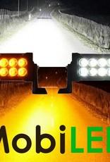 Actie set: 120w dual color light bar + 2x 48w dual color werklampen
