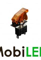 Toggle Schakelaar led 20 ampère 12 volt amber
