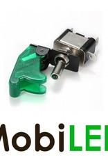 Toggle Schakelaar led 20 ampère 12 volt groen