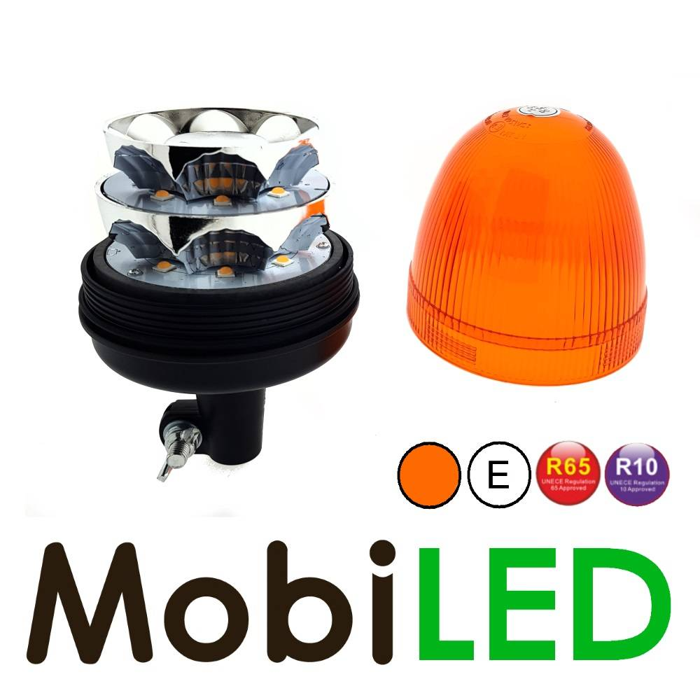 Lampe Gyrophare 48 watt insertion DIN Fixe E-marque