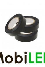 Ruban isolant en PVC noir